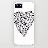 Heart iPhone & iPod Case by Sherise Seven Art