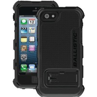 Ballistic HC0956-M005 Hard Case for iPhone 5 - 1 Pack - Retail Packaging - Black/Black:Amazon:Cell Phones & Accessories