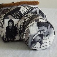 DSLR Camera Case Bag, Michael Jackson Camera Bag, Made to Order