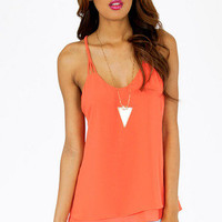 Braidy Bunch Shift Tank Top $32