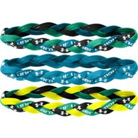 Under Armour Women's Braided Mini Headbands - 3 Pack
