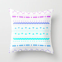 which way should we go? Throw Pillow by daniellebourland