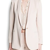 Amazon.com: Mango Women's Sartorial Blazer: Clothing