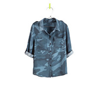 PRINTED COMBAT SHIRT - Shirts - Girl - Kids - ZARA United States