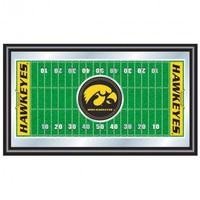 Trademark Global University of Lowa Football Field Framed Mirror - IA1500F - All Wall Art - Wall Art & Coverings - Decor