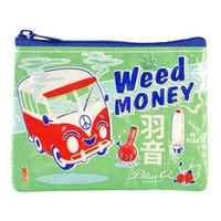 Weed Money Coin Purse - 95% Recycled Post Consumer Material