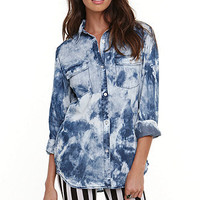 Lue Tunic Chambray Shirt at PacSun.com