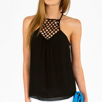 Caged Chest Cami $31