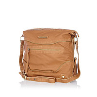 Tan messenger bag - cross body bags - bags / purses - women