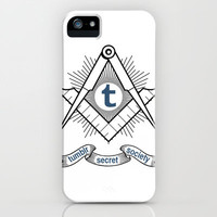 Tumblr Secret Society iPhone & iPod Case by Ferris Bueller