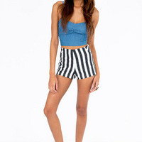 Loud Stripe Shorts $28