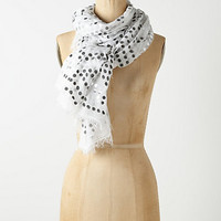 Fringed Ellipsis Scarf