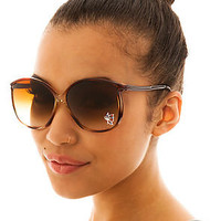 Replay Vintage Sunglasses The Jeweled Oversized Sunglasses in Black : Karmaloop.com - Global Concrete Culture