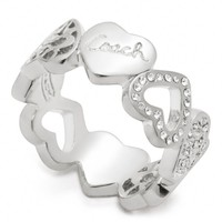 Coach :: Miranda Heart Band Ring