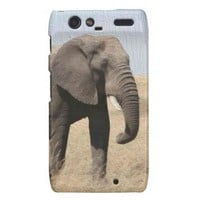 Majestic Elephant Motorola RAZR Case Motorola Droid RAZR Cover from Zazzle.com