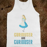 Curiouser and Curiouser - hopealittle tee's - Skreened T-shirts, Organic Shirts, Hoodies, Kids Tees, Baby One-Pieces and Tote Bags