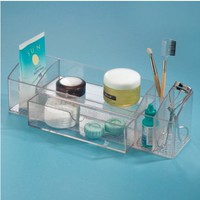 InterDesign 12-Inch Med+ Drawer Caddy, Clear