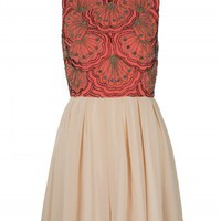 Coral Beaded Dress | Dresses | Desire