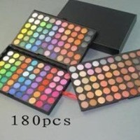 Amazon.com: MAC 180 Color Makeup Palette Cosmetics Professional Eye Shadow Tray: Beauty