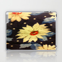 Flower Print Laptop & iPad Skin by Rhiannon