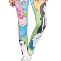 Amazon.com: Adventure Time Character Leggings Pre-Order: Clothing