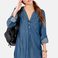 So Fresh and So Jean Denim Shirt Dress