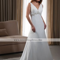 Informal Bridal Gown,Simple Wedding Dress
