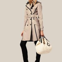 Bqueen Posh Trench Coat