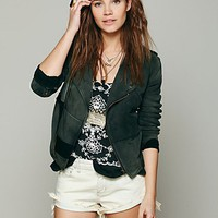 Free People Free People We The Free Moto Patch Jacket