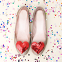 ban.do heart shoe clips | ShopBando.com