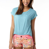 Neon Hawaiian Short