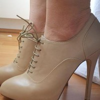 Aldo high heels ankle boots from pansypanda
