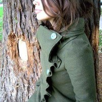 SALE Sally Coat by LittleHouses on Etsy