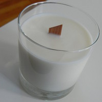 Soy Candle In A Beautiful Glass Tumbler 11oz - Spirulina