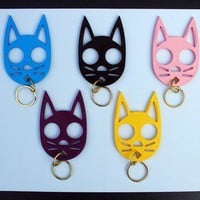 Kitty Keychain Self-Defense Device