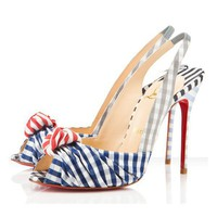 Christian Louboutin Jenny 100mm Slingbacks 