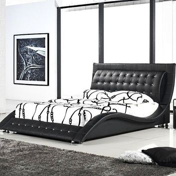 Dublin Contemporary Platform Bed King Size