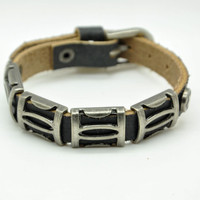 Friendship Punk Adjustable Leather Woven Bracelets mens bracelet Gifts for Men's Bracelet 2268S