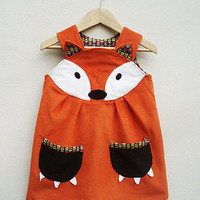 fox dress by wild things