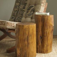 VivaTerra - Teak Trunks