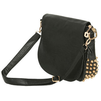 Studded Crossbody Handbag - Teen Clothing by Wet Seal