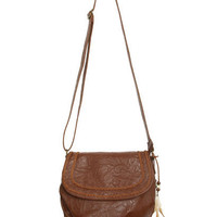 Cross Body Feather Bag - Teen Clothing by Wet Seal