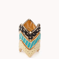 Zigzag Stackable Ring Set