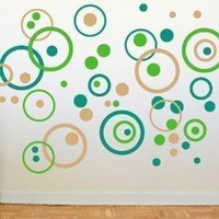 Bubble Wall Decals Double Set by michellechristina on Etsy
