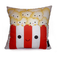 Deluxe Pillow Yummy Popcorn by mymimi on Etsy