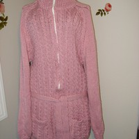 Ready to ship /GORGEOUS Hand Knitted Casual Style Sweater Coat Cardigan