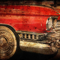 Gift Set of Two 2 Classic Car Photography Dodge by AnnaDelores