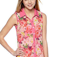 Red Camel® Sleeveless Button up Tank Shirt  - Belk.com