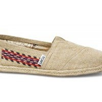 Embroidered Hemp Women's Classics | TOMS.com