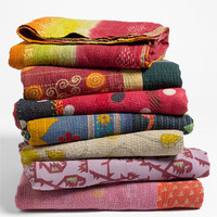Kantha Hand Crafted Throw | Nordstrom